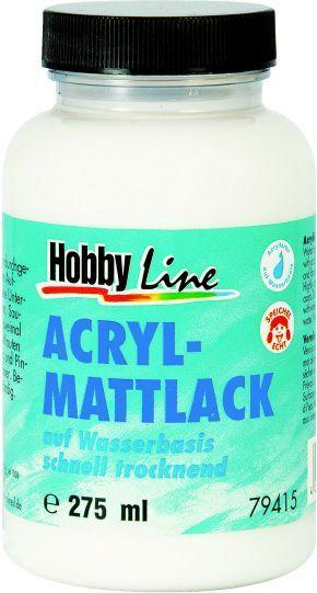 ACRYL MATTLACK AQUA, Germany - Декорационен Акрилен лак мат гланц 250мл