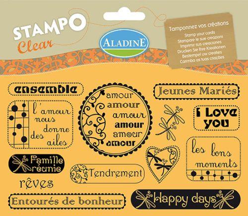 ALADINE STAMPS XL - Дизайнерски печати 11Х19см