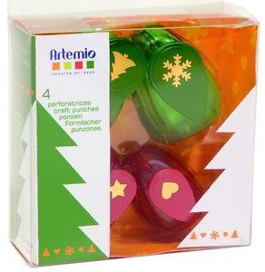 ARTEMIO PUNCH SET - Подаръчен комплект коледни пънчове 4бр / 3002