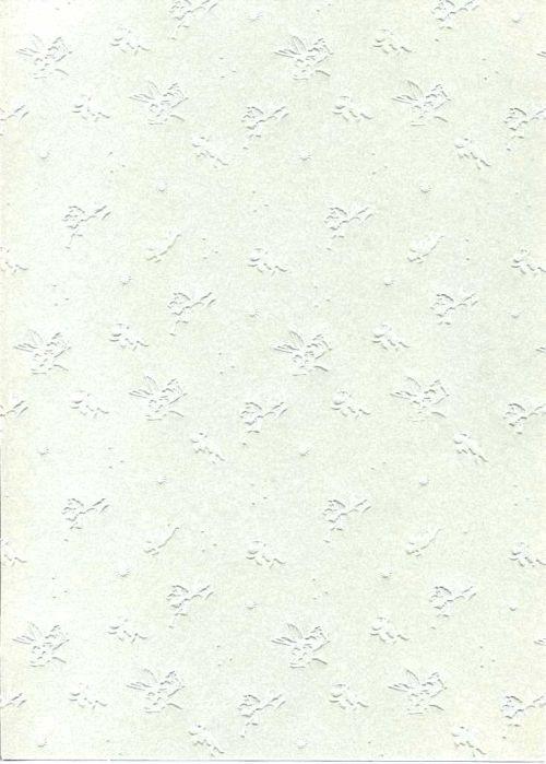 "FB EMBOSS CARD - Преге картон 230гр ""АНГЕЛЧЕТА"" 50х70см - Бяло"