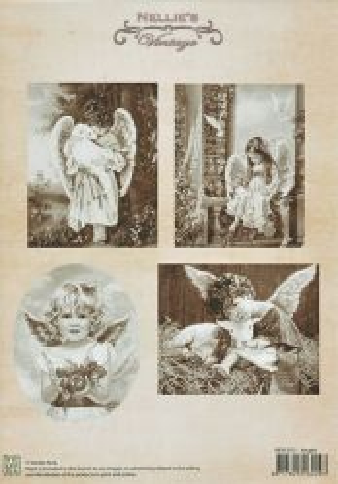 A4 DECOUPAGE Christmas Vintage  - АРТ декупажна хартия / 013