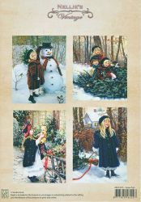 A4 DECOUPAGE Christmas Vintage  - АРТ декупажна хартия / 015