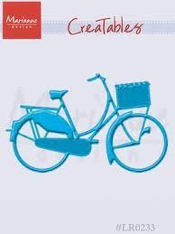 BIKE Marianne Design - Шаблон за рязане и ембос