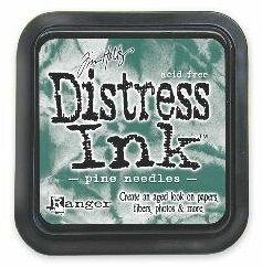 DISTRESS тампон - Pine needles