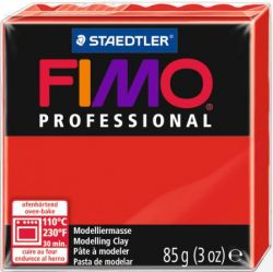 FIMO PROFESSIONAL 85gr - RED