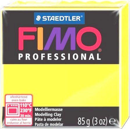 FIMO PROFESSIONAL 85gr -  JAUNE CITRON