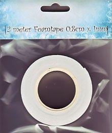 FOAM TAPE  - 3Д двойно лепяща лента 2м x 0.8см. х 1мм.