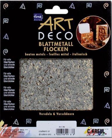 ART DECO BLATMETALL FLAKES - Варак шлаки Сребро / SILVER