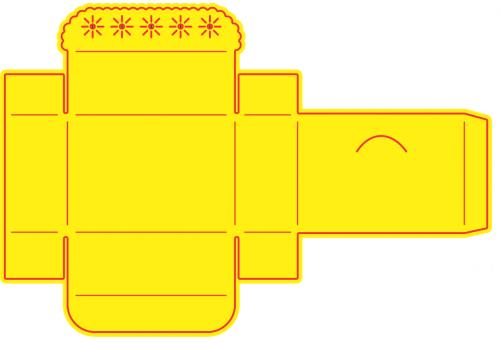 BOX Cheery Lynn ,USA - Шаблон за рязане и ембос TREASURE BOX b271