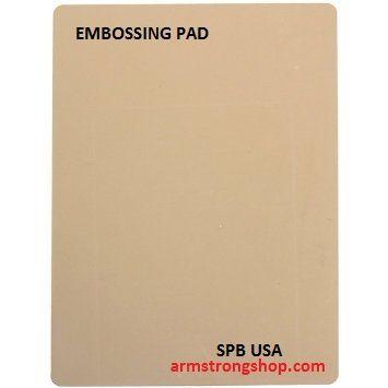EMBOSSING PAD , spb USA - Подложка за ембос за почти всички машини 1 брой