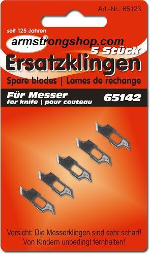 CRAFT BLADES - 5 резервни ножчета за режещ пергел(2636)
