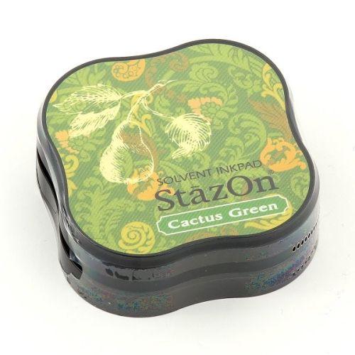 StazOn MIDI - Тампон за всякаква твърда или гланцирана повърхност - Cactus Green