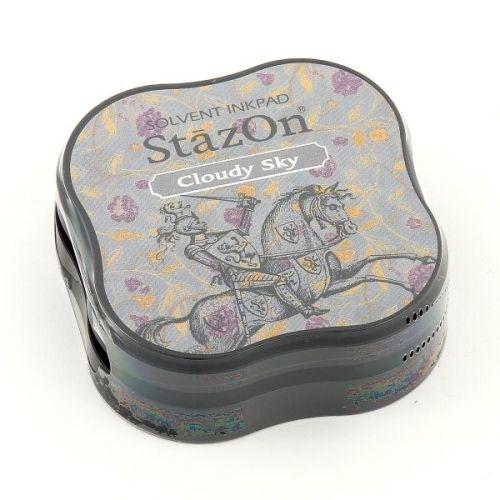 StazOn MIDI - Тампон за всякаква твърда или гланцирана повърхност - Cloudy Sky