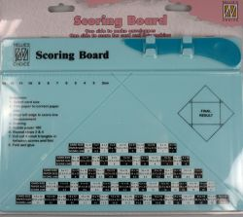 BOARD SCORING by Nellie Snellen – Двустранен Крафт борд A4  за пликове, картички и кутии