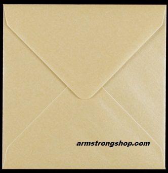 CENTURA ENVELOPES England - Перлени пликове 155 X 155 мм. CREAM