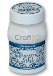 TRANSFER Gel for Fabric, Stamperia -Трансферен медиум за текстил 100 ml.
