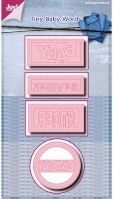 BABY by Joy Crafts - Щанци за рязане и ембос 6002/0449