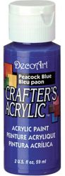 CRAFTERS ACRYLIC USA 59 ml - PEACOCK BLUE