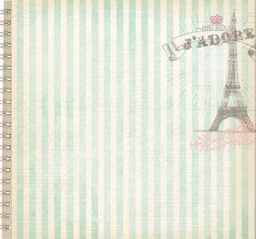 """ALBUM SCRAPBOOKING """"JADORE"""" - Дизайнерски скрапбукинг албум 24 страници 30,5х30,5 см"""