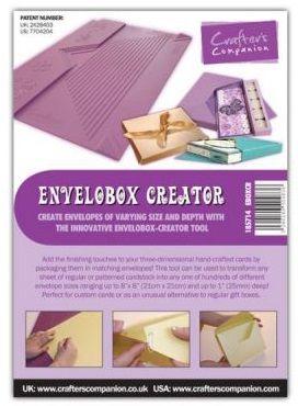 # ENVELOBOX CREATOR – Инструмент за кутии-пликове