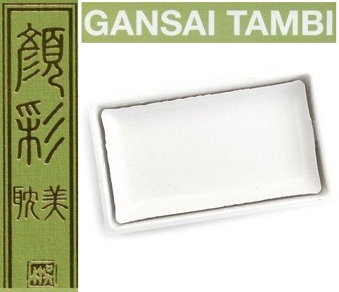 GANSAI TAMBI Watercolours , JAPAN - Екстра фин японски акварел WHITE No 10