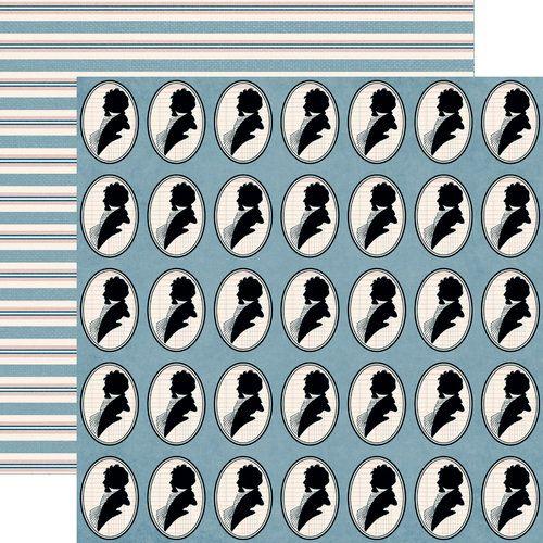 JENNI BOWLIN USA # BE OUR GUEST - Дизайнерски скрапбукинг картон 30,5 х 30,5 см.