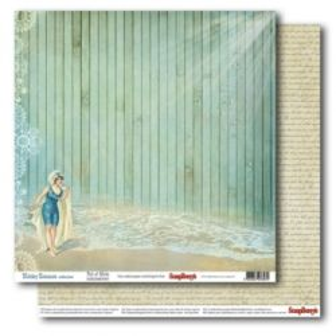 "SCRAPBERRY # HOLIDAY ROMANCE - FULL of MYRTH 12X12"" 180g - Дизайнерски картон 30,5 х 30,5 см."