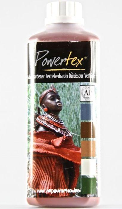 POWERTEX TERRACOTA 1000G - Деко втвърдител за текстил ЗА СКУЛПТУРИ