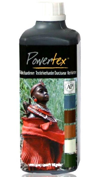 POWERTEX NOIR 500G - Деко втвърдител за текстил ЗА СКУЛПТУРИ