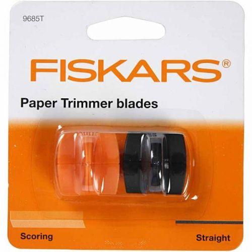 FISKARS 2 Pack Cut/Score TRIMMER Blades  - Резервни ножове за тример fsk4153 (A3) и fsk9893 (A4)