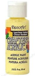 CRAFTERS ACRYLIC USA 59 ml - LUSCIOUS LEMON