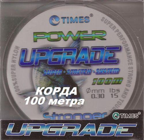 CORD POWER by TIMES - Корда  прозрачна ф0.3 мм Х 100 м