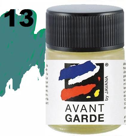 AVANTGARDE STEAM FIX - Боя за коприна с парна фиксация 50 мл.  PETROL