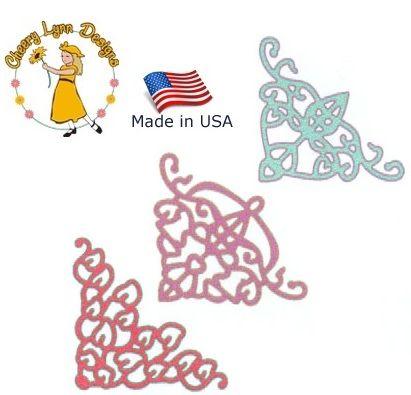 Cheery Lynn ,USA - Шаблон за рязане и ембос Ъгли165
