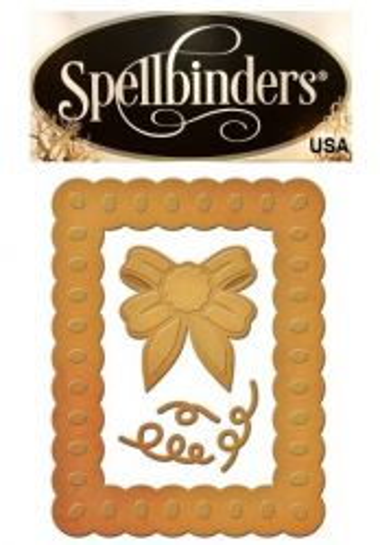 FRAME Spellbinders USA DIES - шаблон за изрязване и ембос s2-190 - ОФЕРТА