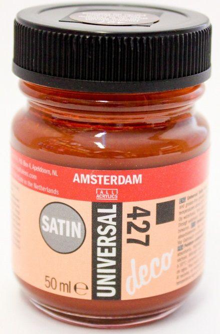 DECORFIN Universal satin, TALENS - Екстра фин акрил 50 ml, 427 HAVANA BROWN