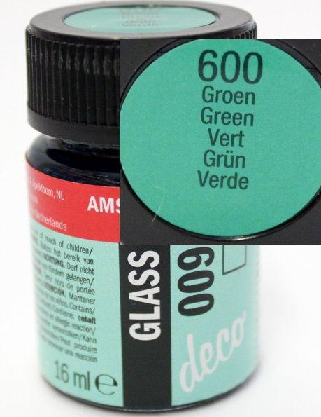 Decorfin Glass 16ml TALENS - Витражна боя от най-високо качество - Зелено