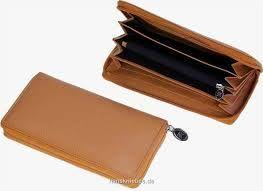 LADY WALLET beige - Портфейл от естествена кожа -HK Germany