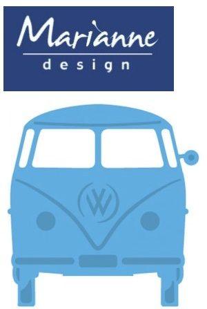 AUTO Marianne Design DIE - Шаблон за рязане и ембос LR0359