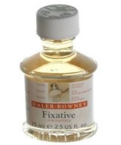 Daler-Rowney FIXATIVE for SOFT PASTELS - Фиксатив за сухи /меки пастели 75мл