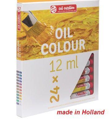 TALENS ART OIL 24  - Фини Маслени бои 24 цвята # Made in Holland