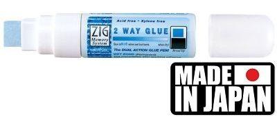 GLUE ZIG  2 WAY  - XXL маркер/лепило за лепене и позлата 5 - 15 мм