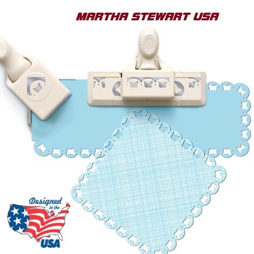 AROUND THE PAGE от Марта Стюарт - комплект бордюрен + ъглов пънч
