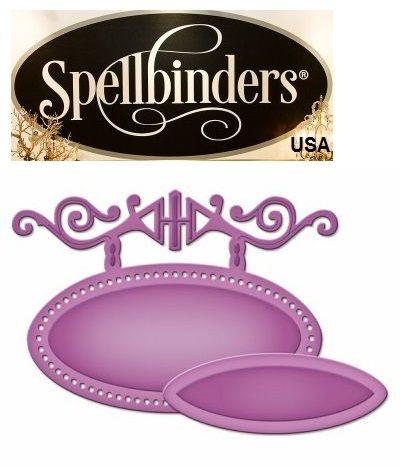 LABELS Spellbinders USA NEW - шаблон за изрязване и ембос s2-034