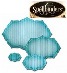 LABELS Spellbinders USA  - шаблон за изрязване и ембос s4-487
