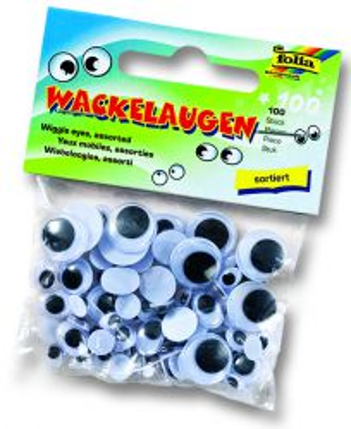 Декоративни очички - микс размери пакет 100 бр.