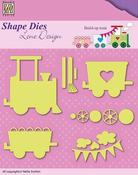 "BABY TOYS  Lene Design """"  - Фигурална щанца за рязане и релеф,  SDL033"