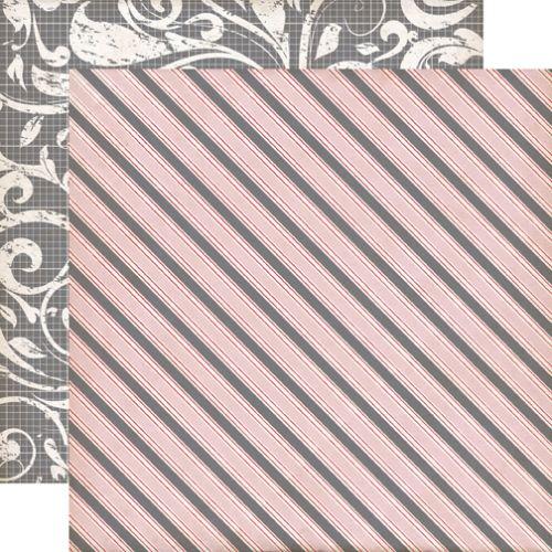 ECHO PARK USA # YOURS TRULY - Дизайнерски скрапбукинг картон 30,5 х 30,5 см.