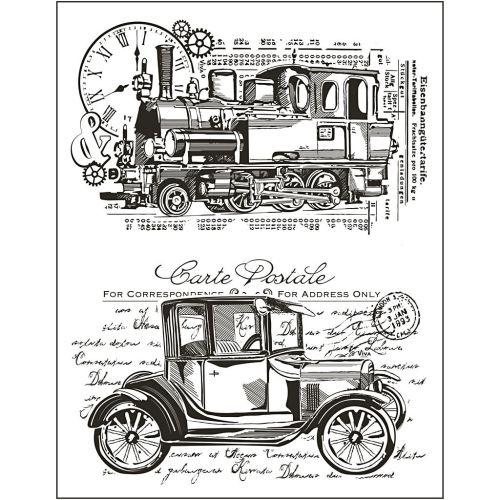 CARTE POSTALE Glear 14 x 18 cm  - Дизайнерски прозрачни печати