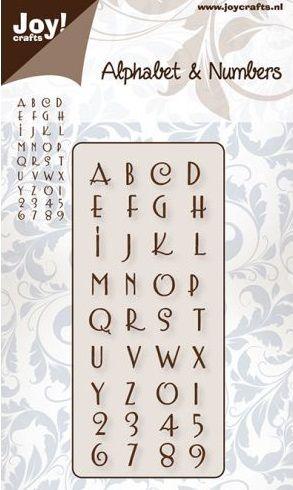 ALPHABET JOY Crafts - Щанци за рязане и ембос   6002/0140